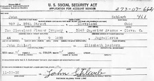 11-30-1936 Application for Social Security