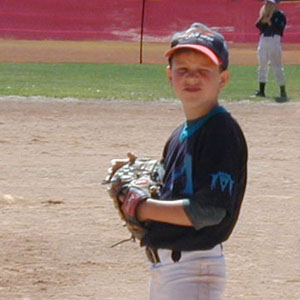 Presley Schlarb Plays Baseball, May 2004